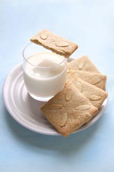 German Spekulatius, spiced almond cookies