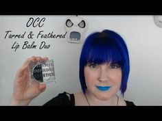 Obsessive Compulsive Cosmetics Tarred & Feathered Color Correcting Lip Balm Duo