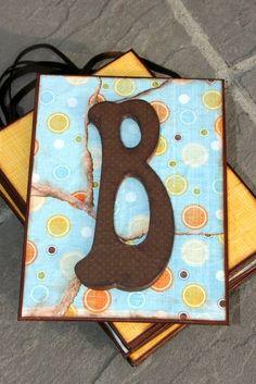 Nursery room letters