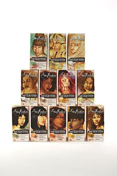 SheaMoisture Hair Care Color System: The Art of Color. Love SheaMoisture products! I think I will experiment with a new color using this line.