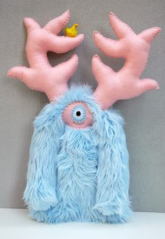plush/stuffed monster
