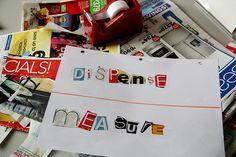 Ransom letter - spelling word practice!! GENIUS