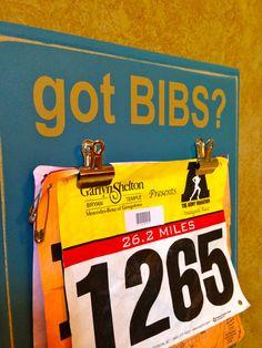 Race bib Holder  Marathon Half Marathon Gifts  by FrameYourEvent, $29.99