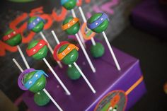 TMNT Party with Such Awesome Ideas via Kara's Party Ideas | KarasPartyIdeas.com #TeenageMutantNinjaTurtles #PartyIdeas #Supplies