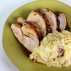 roasted turkey breast with honey glaze