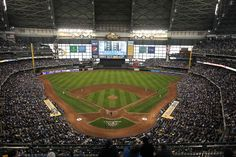 Miller Park - Home to the Milwaukee Brewers