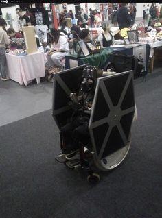 Wheelchair costume