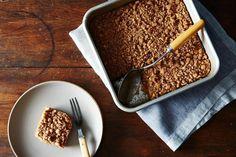 Peach Crumble Coffee Cake: A Vegan Dessert for Summer on Food52