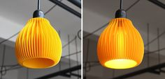 These 3D Printed Lampshades Are Stunning | Brit + Co