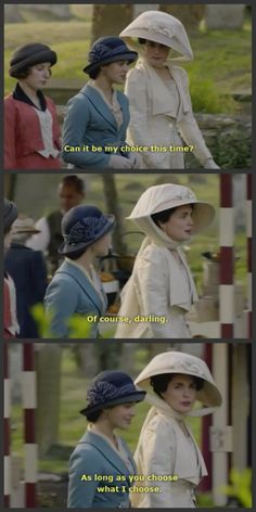 Lady Sybil and Lady Grantham