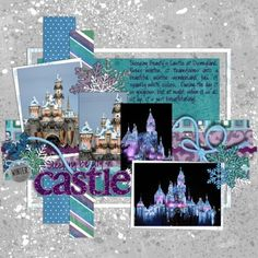 Google Image Result for http://www.peppermintcreative.com/gallery/data/3/disney_castle_web.jpg #disneyscrapbookpagesIlove