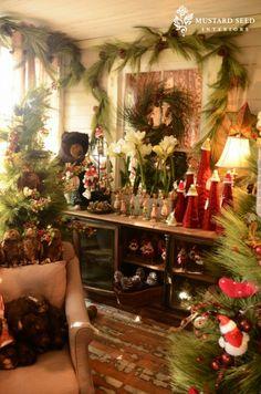 christmas time, retail displays, heaven, color, christma decor, winter holidays, mustard seeds, holiday decor, cozy christmas