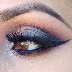 Smoky eye - #eyeshadow