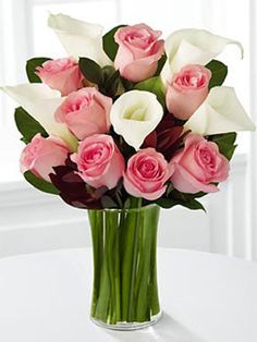pink roses, romantic bedrooms, mothers day, white roses, flower bouquets