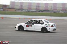 Ronnie Solimon qualified for the 2014 #OUSCI in his 2006 Mitsubishi Evo RS at #DriveUSCA Michigan