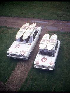 Nothing more classic than surf cars