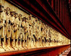 National Building Museum - terra-cotta exterior frieze