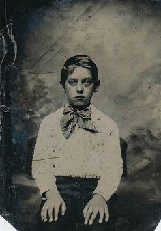 Portrait of a Boy, Tin Type