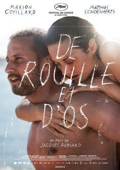 De Rouille et d'Os with Marion Cotillard + Matthias Schoenaerts by Jacques Audiard #movie #film