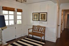 The Cape Cod Ranch Renovation: Great Room  Entry