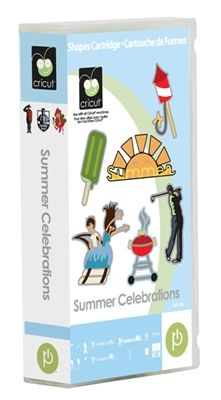 Summer Celebrations Cricut Cartridge