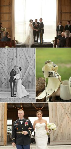Shelbyville Military Wedding by Bella Grace Studios | The Wedding Story