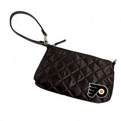 Flyers Quilted Wristlet