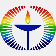 Unitarian Universalist rainbow chalice