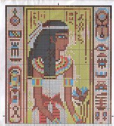 Египет схема вышивки крестом 10