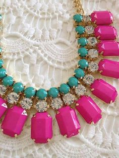statement jewelry is my favorite! it can make any outfit super interesting!