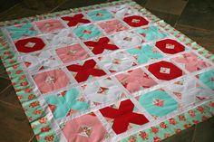 Valentine Quilt  lovely little handmades