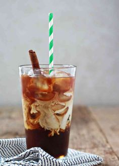 Iced cinnamon latte recipe... Make it at home and save yourself five bucks