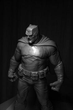 The Dark Knight statue
