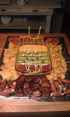 Stadium food tray - Superbowl board