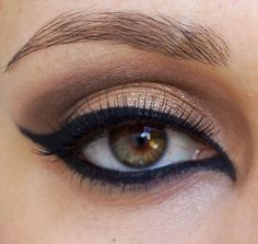 perfect eyeliner all around the eye