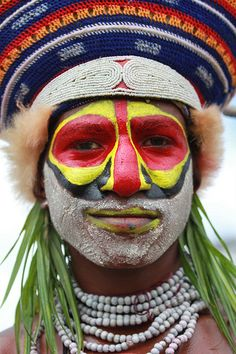Oceania - Papua New Guinea / Bodypaint www.papua-by-raz.co.il/papua  פפואה גינאה החדשה