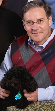 Here's New Jersey State Assemblyman Jon Bramnick and his dog Murphy.   He represents District 21, which contains portions of Morris, Somerset, and Union Counties.  He has served as an Honorary Chair every year since Meet the Breeds began in 2009.