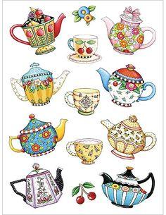 Teapots #PinTeaTuesday