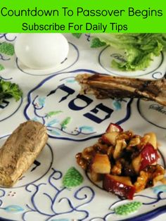 Countdown to Passover- 24 Daily Tips & Recipes to Help You Get Ready for the Holiday