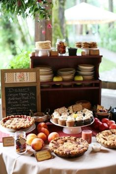 dessert bar...heaven on earth. For more wedding planning tips, check out our website - http://bridalmentor.com/.