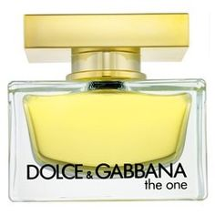 The One by Dolce & Gabanna. I bought this for my mother for her birthday and now everytime I am at her house I steal a spray of it.. I'm going to have to buy one for myself one day!