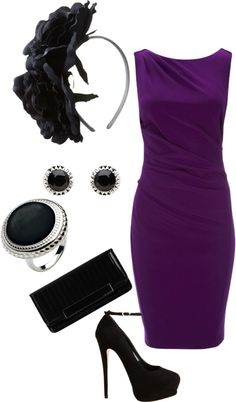 """#""""date night outfit"""" by poly-victoria on Polyvore  dresses and skirt #2dayslook #new #tenderfashion  www.2dayslook.com"""