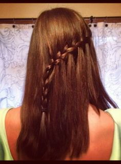 Waterfall Braid #TheBeautyBoard  #Sephora #prom #prombeauty #hair #hairstyles