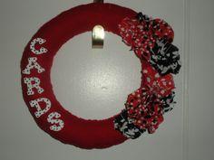 University of Louisville  Cardinals Wreath