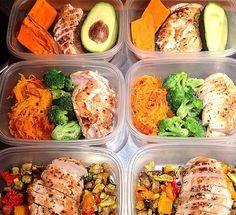 easy clean eating lunch, clean eating meals, spaghetti squash, food prep ideas, meal prep