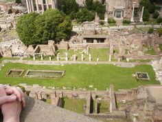 House and Courtyard of the Vestal Virgins next to the Roman Forum
