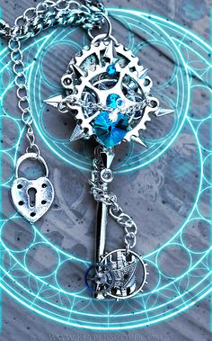 Kingdom Hearts Time Rift Keyblade by KeypersCove.deviantart.com on @deviantART