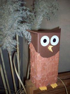 valentine box, owl projects, knutselen en, uil van, valentin box, thema uiltj, kern, uil knutselen, thema tijd