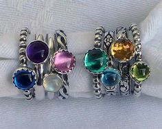 Stackable Mothers Rings...  waterfireviews.com
