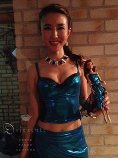 Natsuki with doll.